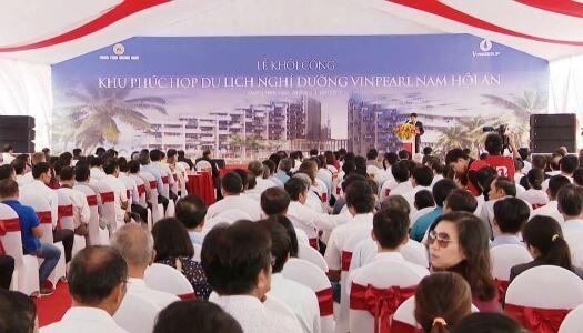 Lễ khởi công Vinpearl Quảng Nam