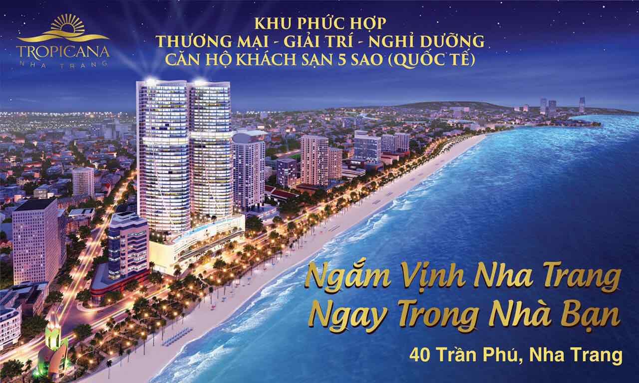 Phối cảnh dự án Tropicana Nha Trang