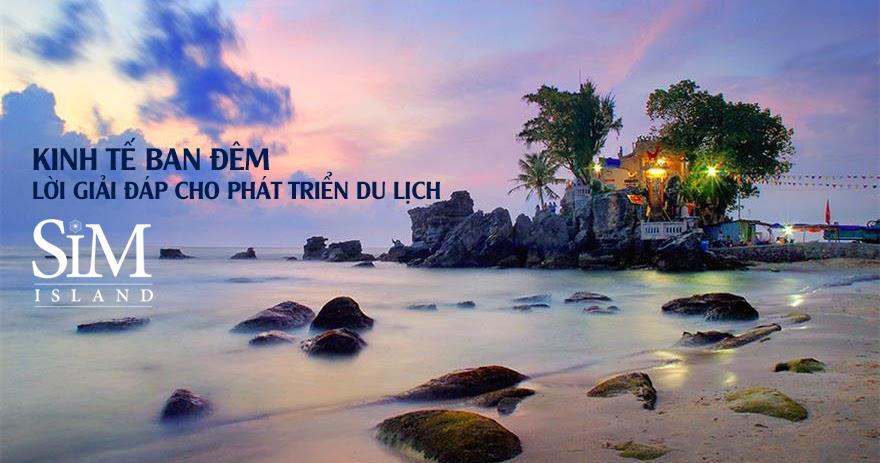 Sim Island – tiềm năng thúc đẩy kinh tế ban đêm của Phú Quốc