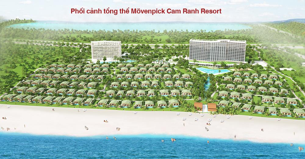 Phối cảnh tổng thể dự án Movenpick Cam Ranh